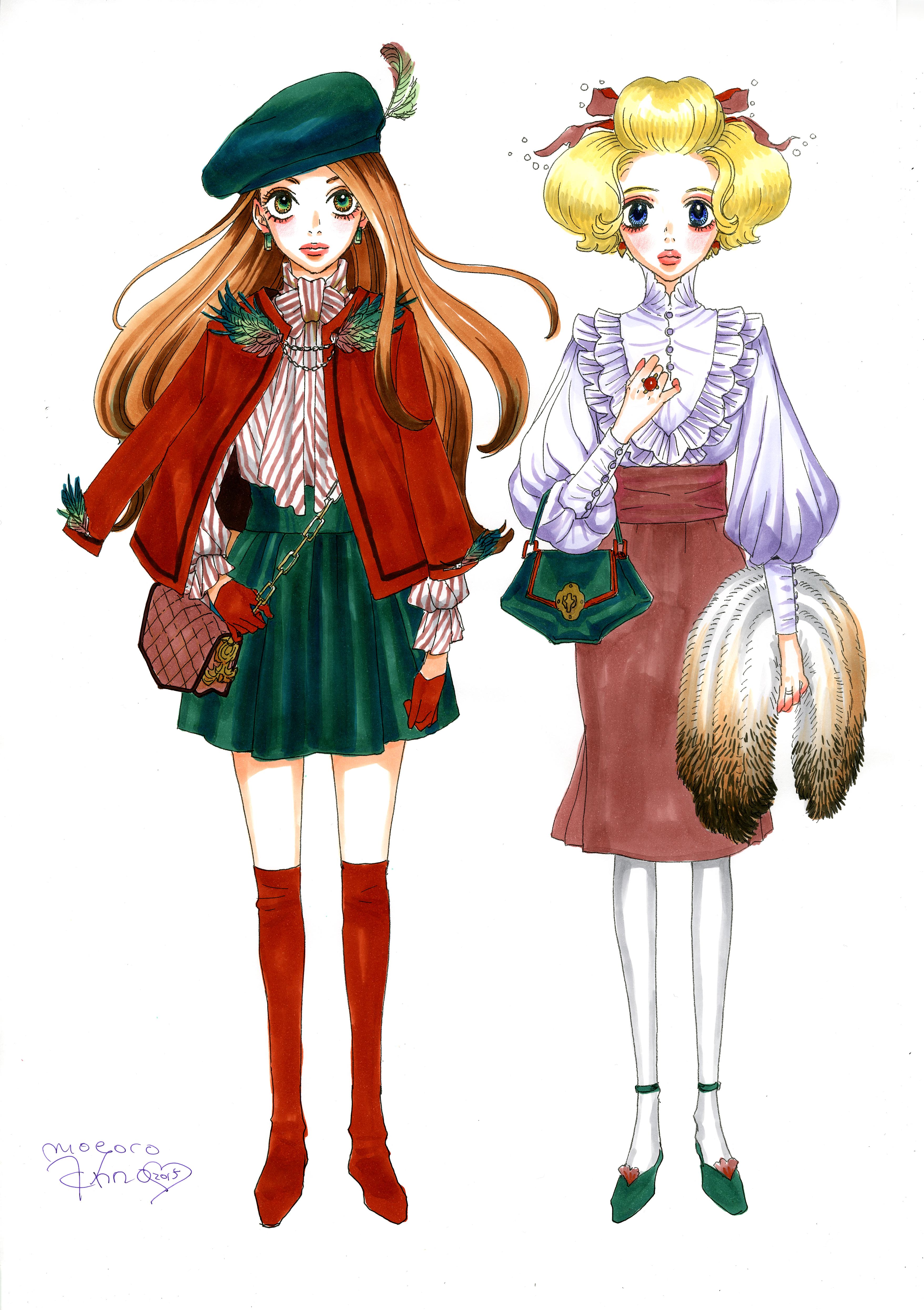 ショコラとバニラが人間界にやってきました♡   MOYOCO ANNO